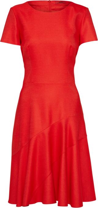 Czerwona sukienka Hugo mini