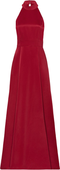 Czerwona sukienka Ivy & Oak maxi bez rękawów