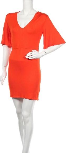Czerwona sukienka Ivyrevel prosta