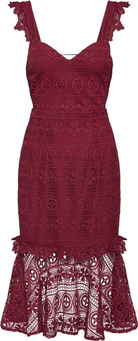 Czerwona sukienka Love Triangle