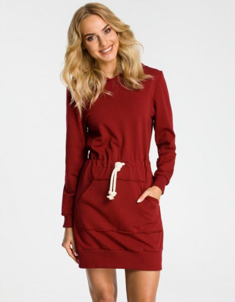 Czerwona sukienka MOE