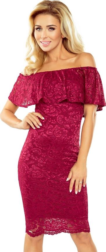 Czerwona sukienka MORIMIA hiszpanka
