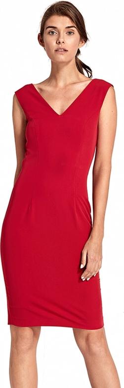 Czerwona sukienka Nife mini prosta