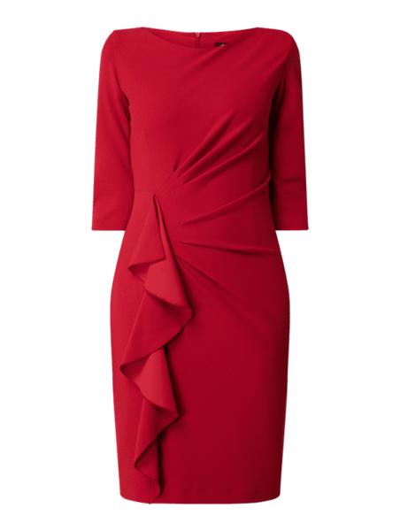 Czerwona sukienka Paradi mini