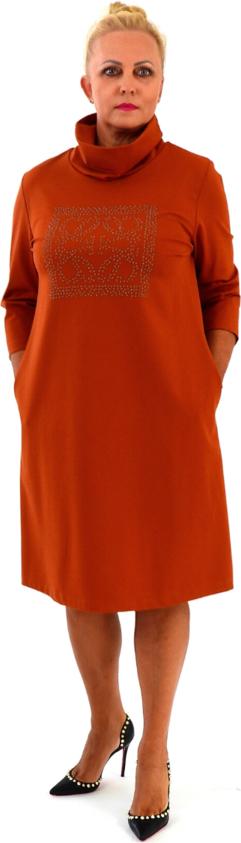 Czerwona sukienka Roxana - sukienki w stylu casual