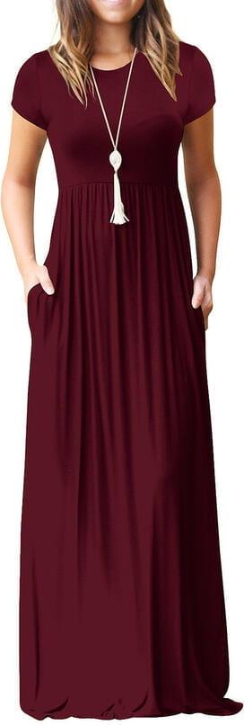 Czerwona sukienka Sandbella
