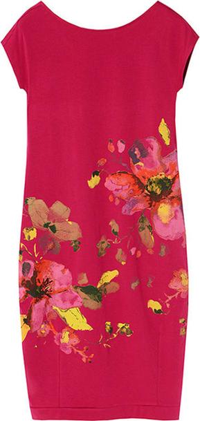Czerwona sukienka Tatuum bez rękawów mini prosta