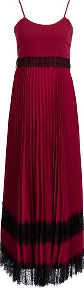 Czerwona sukienka Twinset na ramiączkach