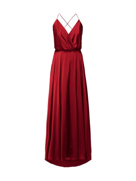 Czerwona sukienka Unique midi