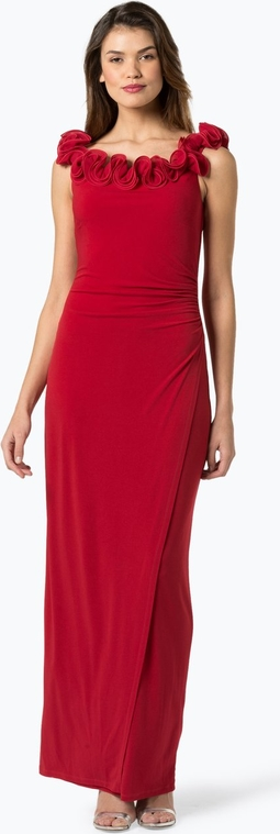 Czerwona sukienka Vera Mont Collection maxi