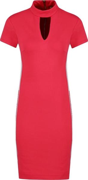 Czerwona sukienka Versace Jeans
