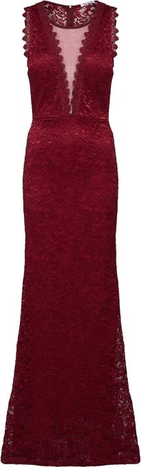 Czerwona sukienka WAL G.