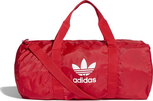 Czerwona torba sportowa Adidas
