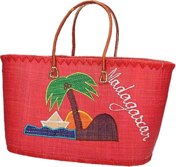 Czerwona torebka Fokus w wakacyjnym stylu