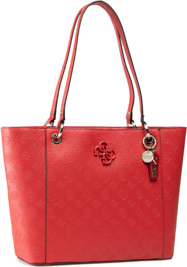 Czerwona torebka Guess na ramię
