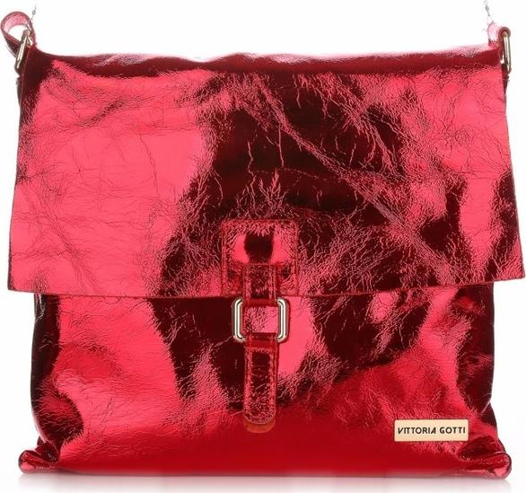 Czerwona torebka VITTORIA GOTTI duża