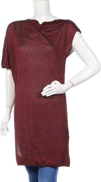 Czerwona tunika Zara Knitwear