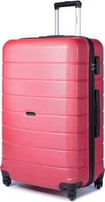 Czerwona walizka Lasocki