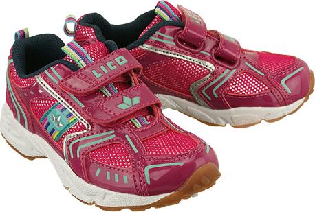 Czerwone buty sportowe dziecięce LICO