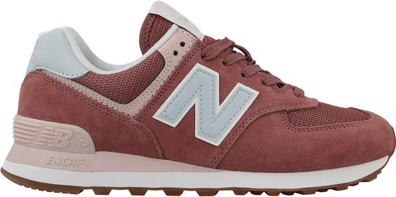 szyk Czerwone buty sportowe New Balance w sportowym stylu na platformie sznurowane Buty Damskie Buty sportowe EP OOOFEP-4