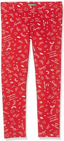 Czerwone legginsy dziecięce amazon.de