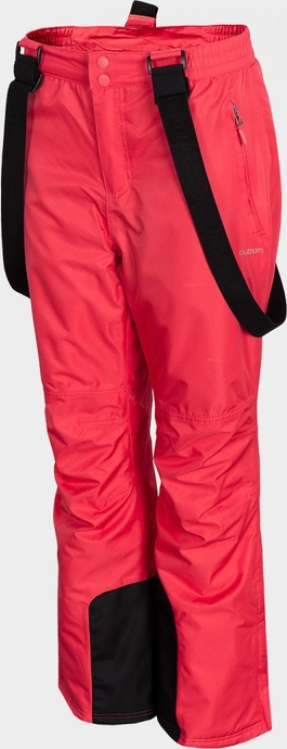 Czerwone spodnie sportowe Outhorn