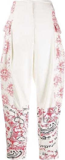 Czerwone spodnie Stella McCartney