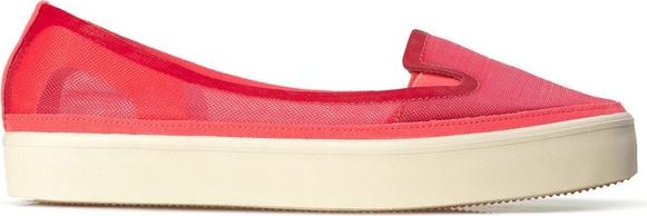 Czerwone trampki Adidas Stella Mccartney