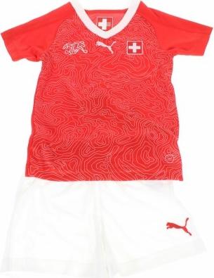 Czerwony dres dziecięcy Puma