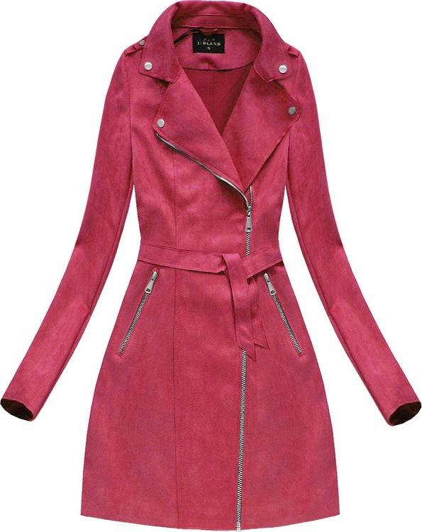 Czerwony płaszcz Libland w stylu casual