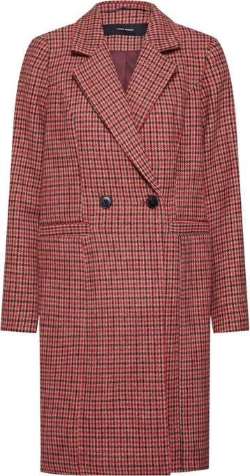 Czerwony płaszcz Vero Moda