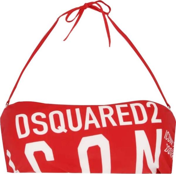 Czerwony strój kąpielowy Dsquared2 w stylu casual