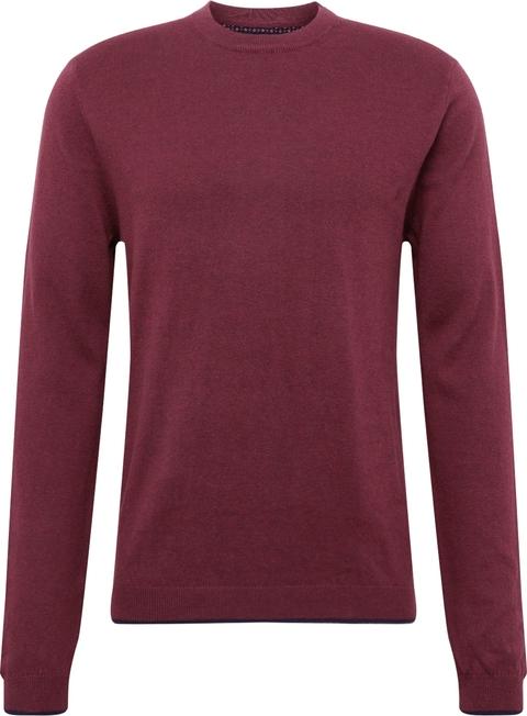 Czerwony sweter Burton z dżerseju