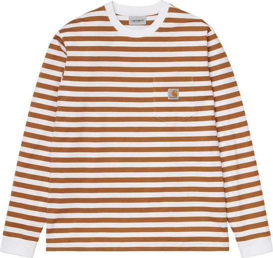 Czerwony sweter Carhartt WIP z wełny