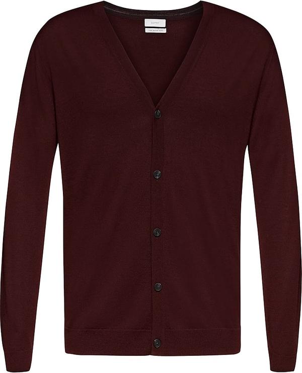 Czerwony sweter Esprit