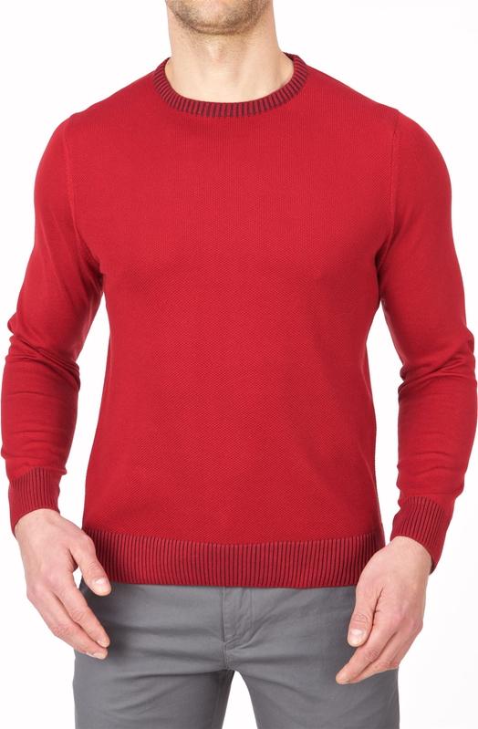 Czerwony sweter Lanieri