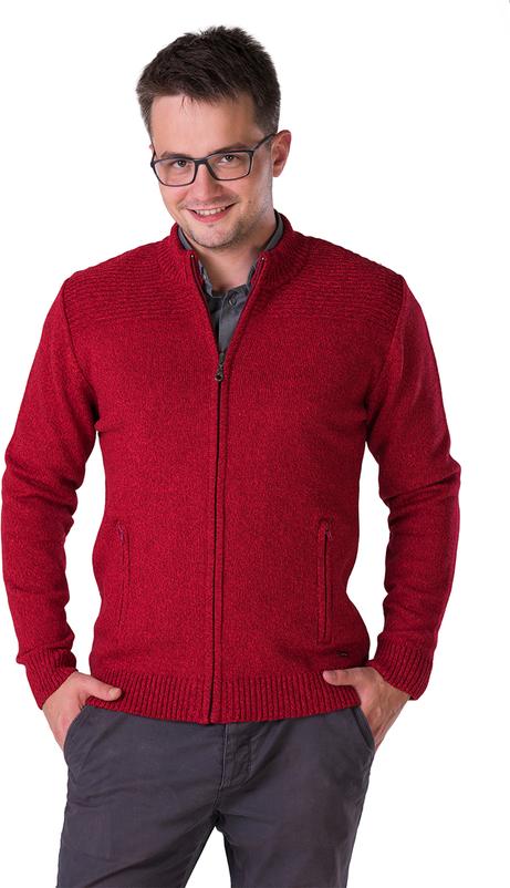 Czerwony sweter M. Lasota