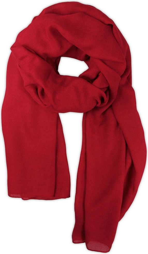 Czerwony szal męski Inna w stylu casual