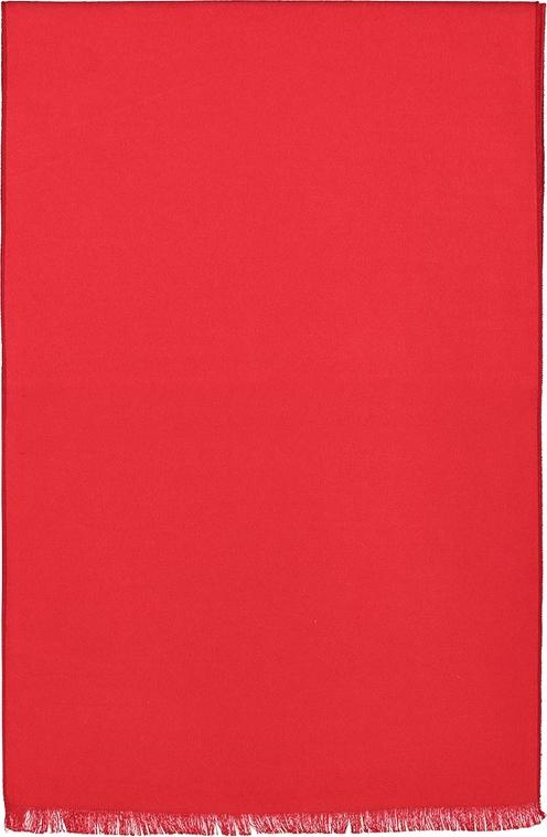 Czerwony szal męski Lavard