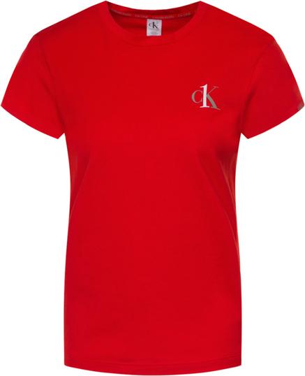 Czerwony t-shirt Calvin Klein Underwear