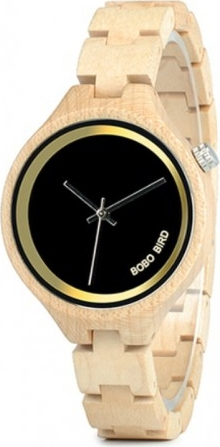 Damski zegarek drewniany bobo bird p16-2