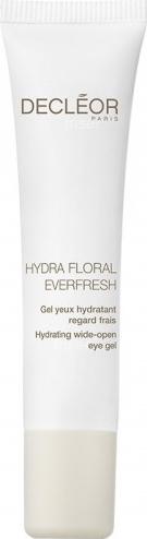 Decléor Hydra Floral Everfresh Nawilżający żel pod oczy - cera sucha 15ml