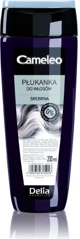 Delia Cosmetics Cameleo płukanka do włosów srebrna 200 ml