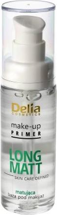 Delia Cosmetics Skin Care Defined baza pod makijaż Long Matt matująca 30 ml