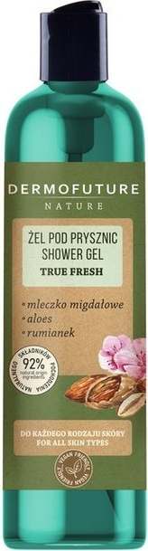 DermoFuture Nature Żel pod prysznic True Fresh 200ml