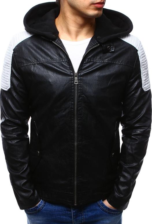 Dstreet kurtka męska skórzana czarna (tx2111)
