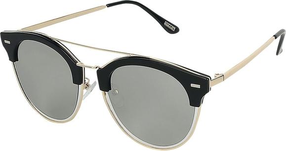EMP - Flat Lenses - Okulary przeciwsłoneczne - czarny/złoty