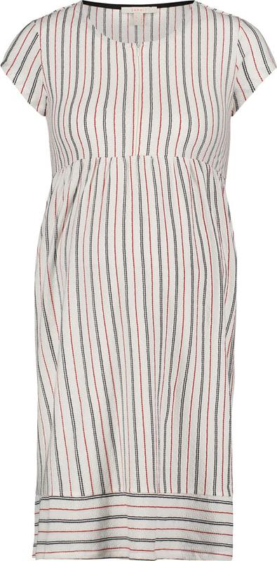 Esprit Sukienka w kolorze kremowym z funkcją karmienia