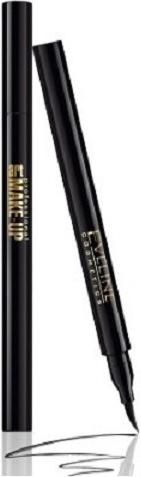 Eveline, Art Make-Up, liner w pisaku, Deep Black, 1,8 ml