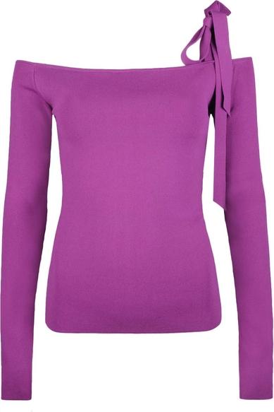 Fioletowa bluzka Pinko z tkaniny